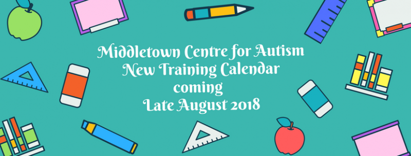 2018/2019 Training Calendar