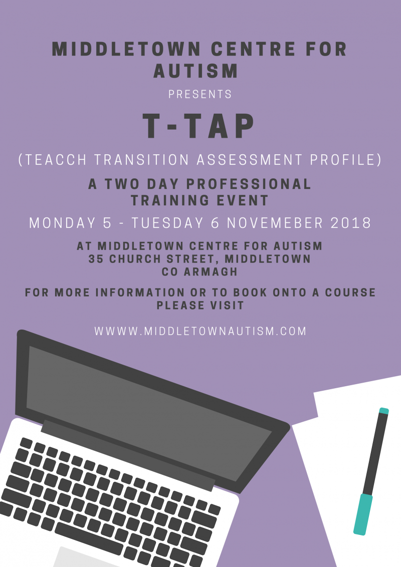 T-TAP - Limited spaces available