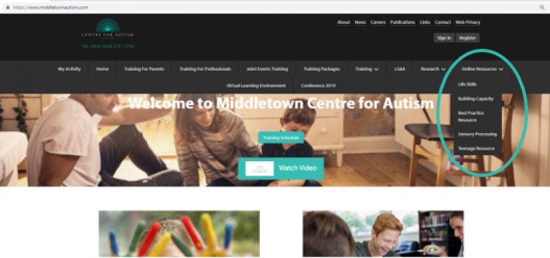 Online Resources available at MCA