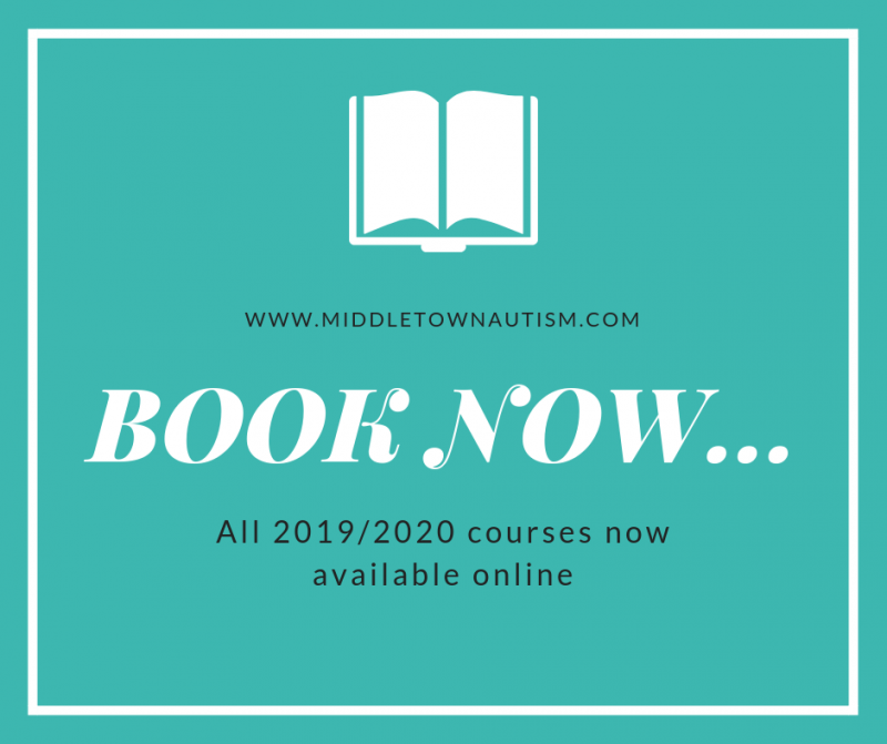 Booking now Open for all 2019/2020 courses