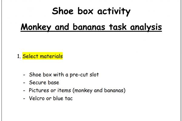 https://www.middletownautism.com/social-media/monkey-and-bananas-shoebox-task-7-2020